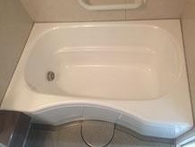 ユニットバス 浴槽塗装