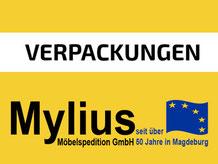 Mylius-Umzug Verpackungen