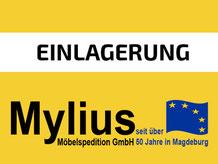 Mylius-Umzug Einlagerung
