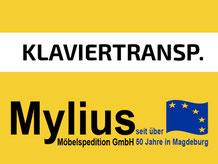 Mylius-Umzug Klaviertransport