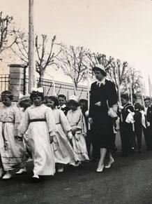 Ende 1930ziger - Anfangs 1940er mit Pfarrer Nicolas Seywert