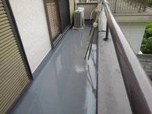 ベランダの雨漏り修理 尼崎市