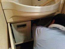 尼崎市 洗面 水漏れ修理