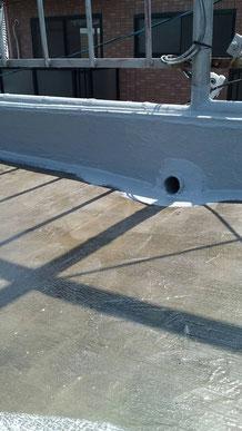 雨漏り修理 防水工事 塗りこみ