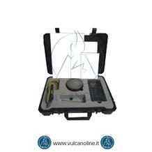Dotazione standard durometro a rimbalzo per metalli VLDR180