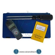 Dotazione standard igrometro per cereali e granaglie VLGM7825G