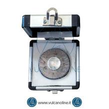 Dotazione standard spessimetro per film umido a rotella VLMFMR