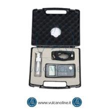 Dotazione standard spessimetro ad ultrasuoni VLST160