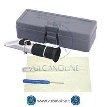 Dotazione standard rifrattometri ottici per analisi liquidi batteria, refrigeranti, antigelo, pulizia VLRFTL