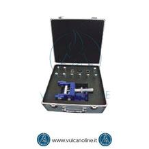 Dotazione standard mandrino cilindrico per test di piegatura VLMCL032