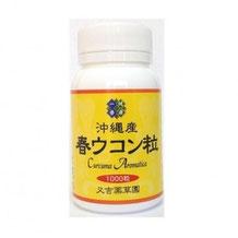 春ウコン+アガリクス茸 1300粒 3,980円