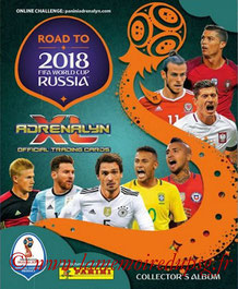 2018 - Panini Road to FIFA World Cup Russia Adrenalyn XL - Couverture
