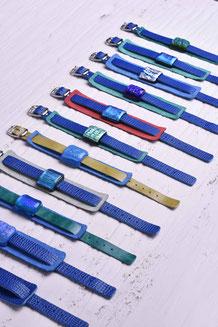 Glasschmuck - Armbänder - Lederarmband - Mode - Style - onlineshop - Glaskunst