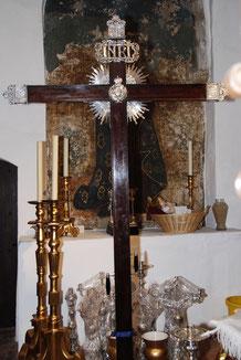 Cruz de Guia. Preside el Cortejo Procesional el Jueves Santo.