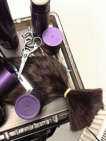 Haarspende Perücke