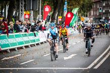Zieleinfahrt Münsterland Giro 2017