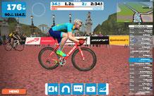 Screenshot Zwift