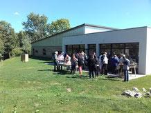 rafting comité d'entreprise à Picquigny et barbecue