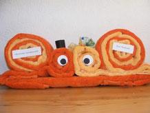 Geldgeschenke Handtücher für Hochzeit, Geburtstag