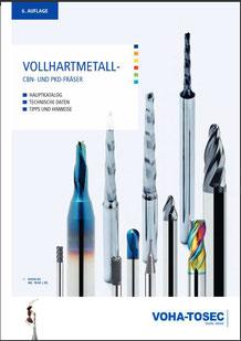 voha-tosec VHM Katalog, Vollhartmetallfräser, Werkzeuge, TOOLART Maschinen und Präzisionswerkzeuge Österreich,