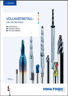 voha-tosec VHM Katalog, Vollhartmetall, Werkzeuge, TOOLART Maschinen und Präzisionswerkzeuge Österreich,