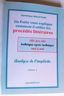 Ouvrage didactique : les procédés littéraires en poésie