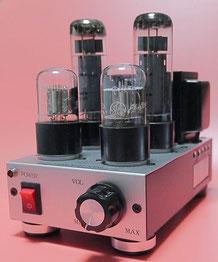 EL34スクリーングリッド出力 小型真空管ステレオアンプ製作 EL34 SG output SE Amplifier