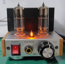 12BH7A DC-DCミニワッターmini DC-DC Mini Watter Tube Amp