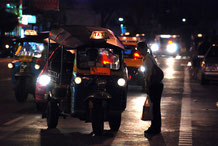 Bangkok bei Nacht ist sicher