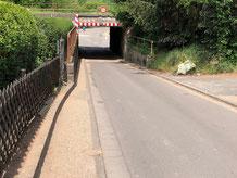 Umbau Unterführung Rennbahnstraße