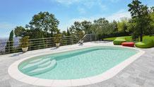 Schwimmbecken, Olivia, Enjoy Treppe