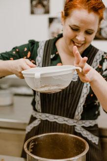bakken; Taart; cake; bruidstaart