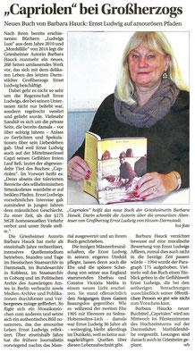 Griesheimer Anzeiger, W. Breckner, 22.11.2017