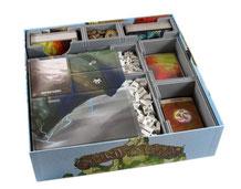 folded space insert organizer spirit island