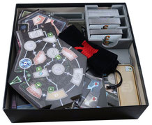 folded space insert organizer clank in space