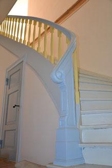 Treppe zum Obergeschoß 2012
