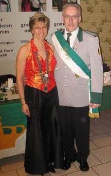 Königin Gaby und Prinz Andreas