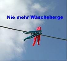 Nie mehr Wäscheberge