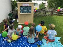 Kasperlitheater Kindergeburtstag Kinderparty