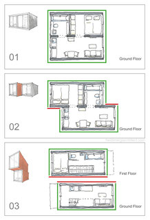 Passive Design and Massing Options Sketch by Heidi Mergl Architect