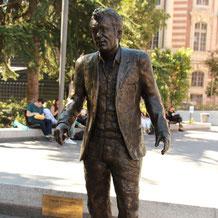 Statue-Buste-Nougaro-Langloÿs