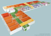 Exemple de projet d'architecture intérieure pour une agence d'avocats