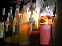 梅酒・果実酒も約30種類と充実