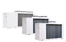 KRONE Kaltwasser-Maschine mit FC Free-Cooling Freiekühlung