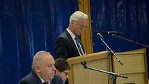 Die Ovag leiste gute Arbeit meinte Ulrich Künz, der Bürgermeister von Kirtorf.