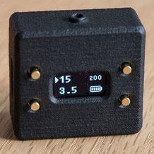 Der Belichtungsmesser V102 von Cameractive im Praxistest: Displayansicht bei Zeitvorwahl. Foto: bonnescape.de