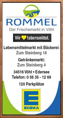 Edeka & Lotto-Verkaufsstelle Rommel in Vöhl