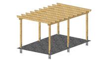 Einzelcarport Holzbau