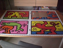 mein bisher größtes: Keith Haring 32 000