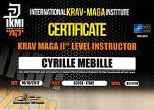 cyrille mebille instructeur niveau 2 IKMI
